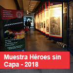 Muestra Héroes sin capa - Museo Hnos. Emiliozzi - 2018